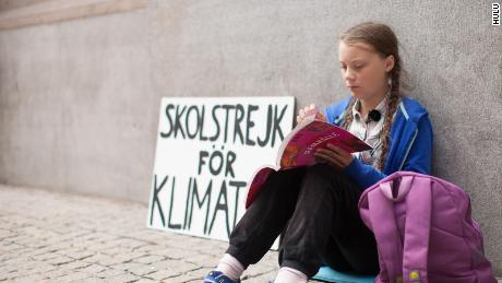 Greta Thunberg in the documentary 'I Am Greta' (Courtesy of Hulu)