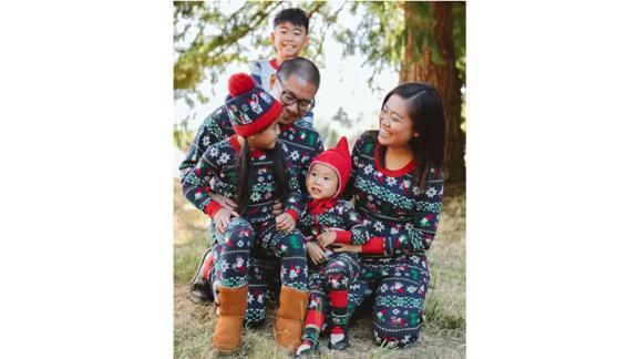 Gnome Matching Family Pajamas