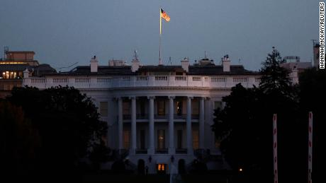 The White House seen at sunrise on November 3, 2020. (Reuters/Hannah McKay)