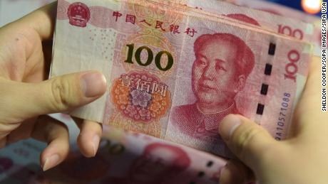 China's yuan has its worst fall in years on fears of renewed US tension
