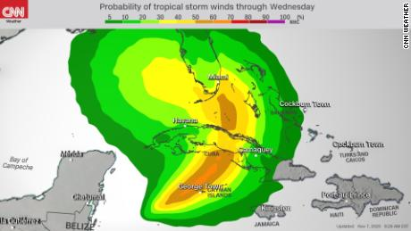 Tropical Storm Eta threatens Cuba and south Florida 1