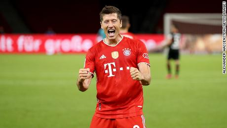 Robert Lewandowski already has 13 goals this season.