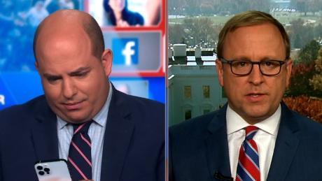 Brian Stelter turned off Trump tweet notifications live on air