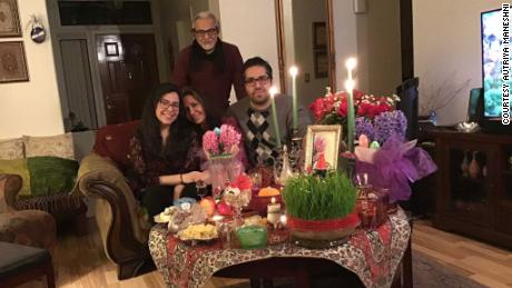 """Autriya Maneshni and her family have watched """"Jeopardy!"""" together for 10 years. She credits the show withhelping her understand English after moving to the US from Iran."""
