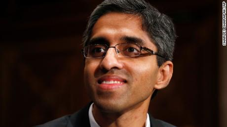 US Surgeon General appointee Dr. Vivek Murthy appears on Capitol Hill on February 4, 2014.