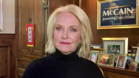 Cindy McCain: John McCain 'would be very pleased' at Biden's win