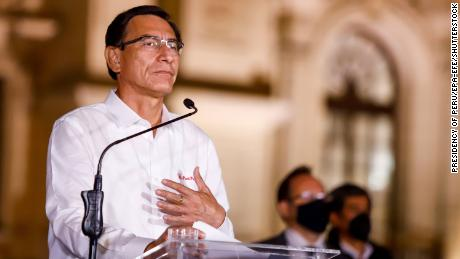 Peru plunged into political upheaval as Congress ousts President Vizcarra
