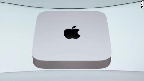 Apple is also adding the more powerful chip to its Mac mini desktop system.
