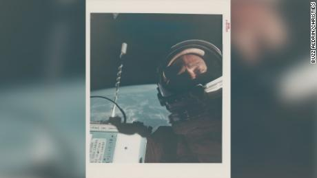 Rare NASA photos up for auction, including the only photograph of Neil Armstrong on the moon