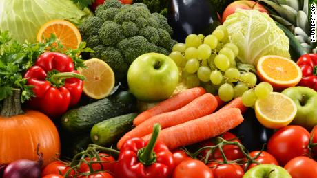 5 is your lucky number of daily fruits and veggies