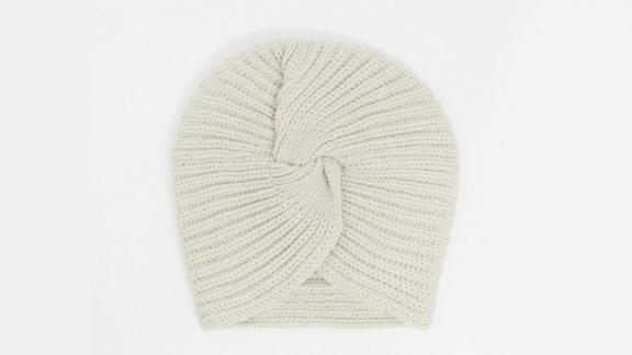 Asos Design Twist-Front Knitted Beanie