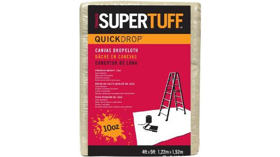 Trimaco SuperTuff Heavyweight Canvas Drop Cloth