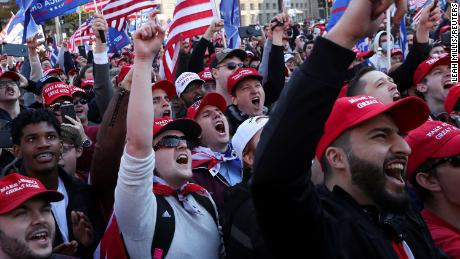 """Throngs of """"Stop the Steal"""" protesters gathered in Washington, DC on Saturday."""