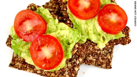 Lisa Drayer's omega-3 crackers are a healthy choice.