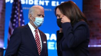 Trump's refusal to concede creates strange gap between Biden and Harris on classified intelligence