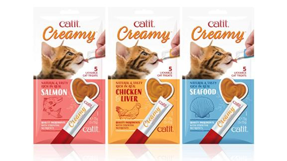 Catit Lickable Treats Variety Pack