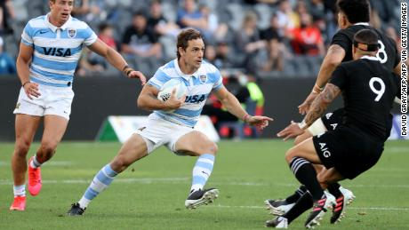 Nicolas Sanchez was instrumental in Argentina's victory over the All Blacks.