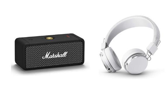 Marshall and Urbanears headphones and speakers