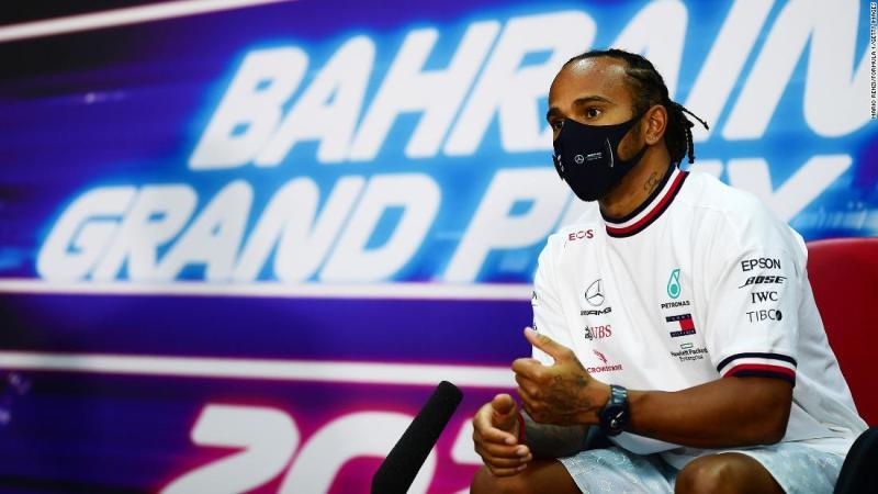 Lewis Hamilton addresses F1's 'massive problem' with human rights