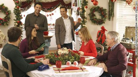 """Hallmark's """"The Christmas House"""" is its first to feature a gay couple as its lead."""