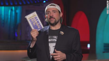 Kevin Smith in the documentary 'The Last Blockbuster'.