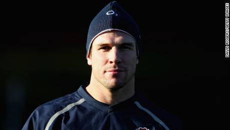 Flanker Michael Lipman captained Bath and represented England during his rugby career.