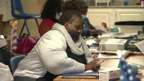 Monica Delancy works to help those facing eviction in Atlanta