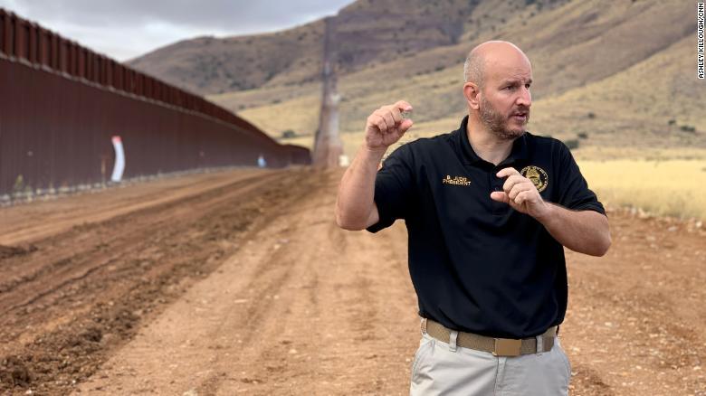 Brandon Judd, president of the National Border Patrol Council.