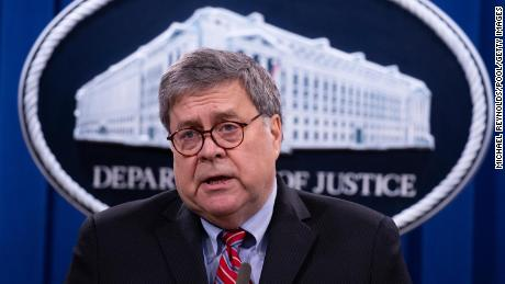 Four key ways Barr broke with Trump at the attorney general's news conference