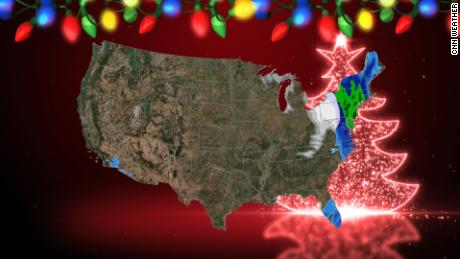 Christmas may snow in the least likely places