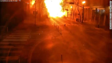 New video released by Police Sunday shows a fireball engulf 2nd Ave the moment the RV exploded Friday morning.