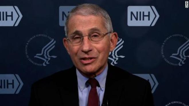 Out of control': Dr. Anthony Fauci on Covid-19 surge - CNN Video