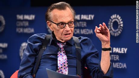 Celebrities and newsmakers pay tribute to broadcasting legend Larry King