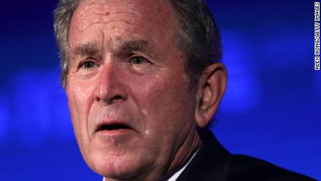 George W. Bush calls for bipartisan immigration action