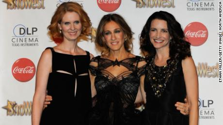"(From left) Cynthia Nixon, Sarah Jessica Parker and Kristin Davis will star in the new ""Sex and the City."""