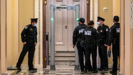 Metal detectors infuriate lawmakers as some Republicans erupt over new measures