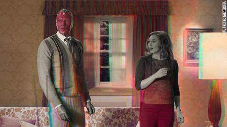 """""""WandaVision"""" is up for multiple Emmy Awards on Sunday."""