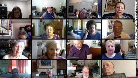 Selfhelp's virtual senior center hosts online classes for older homebound adults to provide mental and emotional wellness.