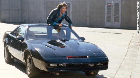 David Hasselhoff is auctioning his personal KITT car from the iconic 'Knight Rider';  Chain