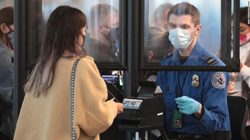 Officials weigh options to enforce Biden's mask requirement for travelers