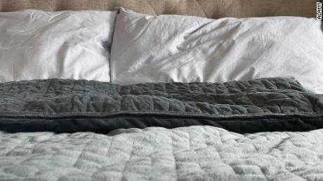 Worry is robbing you of sleep?  A weighted blanket may help