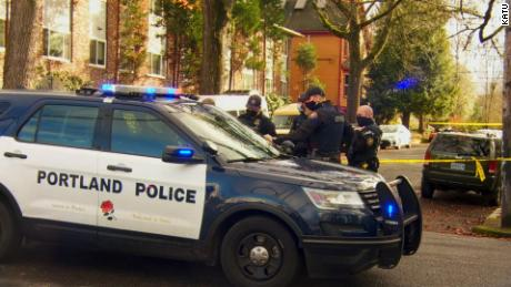 Police say pedestrians and bicyclists in Portland hit 60 mph, police say