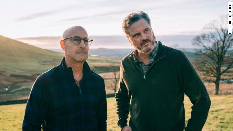 Stanley Tucci and Colin Firth in 'Supernova.'