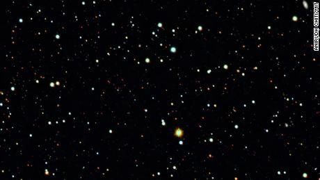 Dark matter halo found around ancient 'cannibal' galaxy