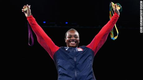 In his illustrious amateur career, Shields won two Olympic gold medals in Rio 2016.