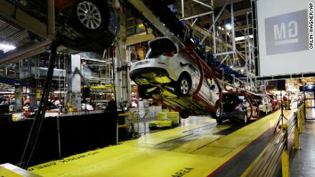 GM extends shutdown at three plants due to chip shortage