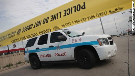 A man is charged with attempted murder after police officers were shot at in Chicago