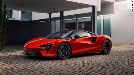 McLaren's new hybrid supercar has computer chips in its tires