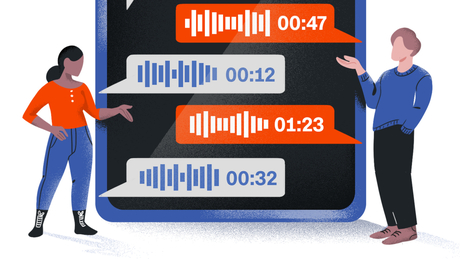 Voice notes have gained new appeal for many in the US during the pandemic amid limited opportunities to socialize.