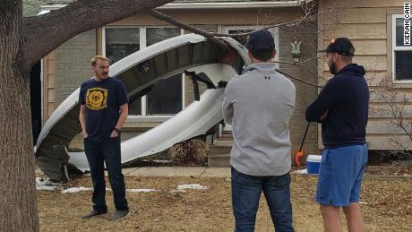 United Airlines flight suffers engine failure, causing debris to fall on neighborhoods outside Denver